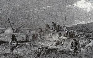 Pilleurs_de_la_mer Octave penguilly 1848